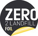 Zero 2 Landfill Foil logo